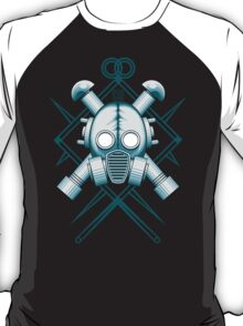 Tribal blue gasmask T-Shirt
