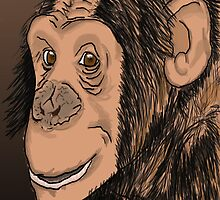 Monkey Smile by Sparc_ eg