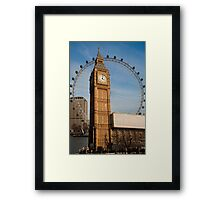 The Two Eyes of London Framed Print