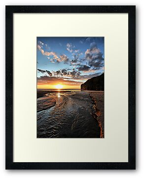 Strand River Flow - Ballybunion by Polly x
