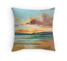 Tiree Beach Study Throw Pillow