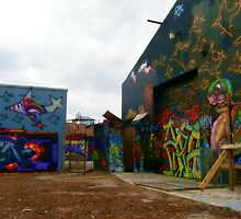 Graffiti Garage by Judith Hayes