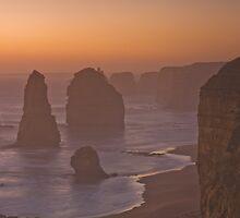 Sunset at Twelve Apostles by Matthew Choi