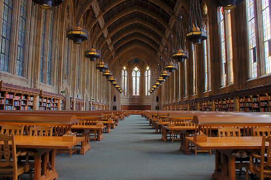 Suzzallo Library (University of Washington) by Barb White