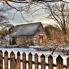 Philipsburg Manor Barn in HDR by Jaime Martorano