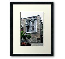 The Tin House Framed Print