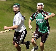Irish Hurling in Indianapolis 1 by Oscar Salinas