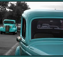 1933 Ford Vicky and 1938 Chevy Pickup by TeeMack