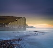 Seven Sisters from Cuckmere Haven by Steve Lane