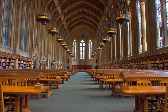 Suzzallo Library (University of Washington) (NON HDR version) by Barb White
