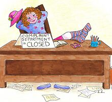 Complaint department is closed by harrogate
