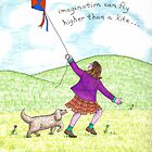 Imagination can fly higher than a kite by harrogate