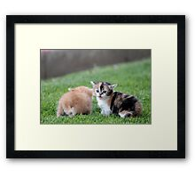 Opposite Ends Framed Print