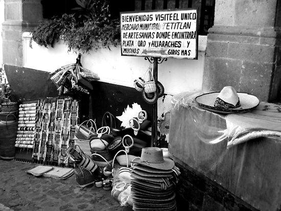 Market in Mexico by Elena Vazquez