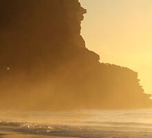 Garie Beach Easter Sunrise by Kezzarama
