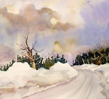 February Snow by Kay Smith
