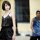 I always feel like somebody's watching me by Vanesa Muñoz