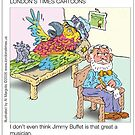 Parrot In Conflict: By Londons Times Cartoons by Rick  London