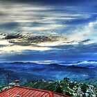 Sunset in Almora by rickvohra