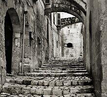 Portico, Via Muro, Sassi, Matera, Basilicata, Italy by Andrew Jones