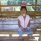 Young Burmese Girl in North Thailand. by Mywildscapepics