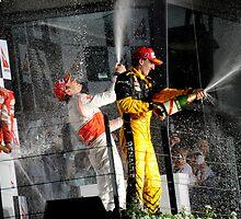 A Podium Finish - Melbourne F1 2010 #2 by Mark Elshout