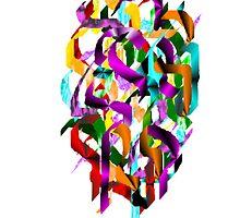 Color Ribbons by katpix