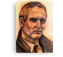 Paul Newman celebrity portrait Metal Print