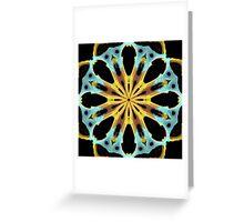 Radial Gold Greeting Card