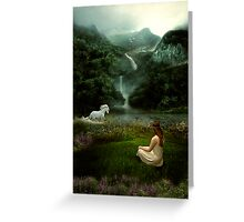Wild Horses Couldn't Drag Me Away Greeting Card