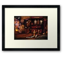 Doctor - Medical Kit Framed Print