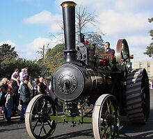 Traction Engine by Carol Bleasdale
