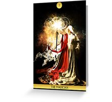 I - The Magician Greeting Card