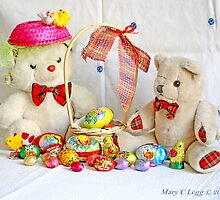 Fatso shares an Easter Basket with Erasmus by pogomcl