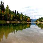 Autumn reflection . by Borror