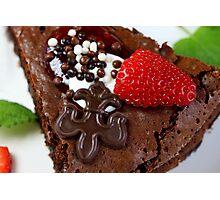 Tarte au Chocolat  Photographic Print