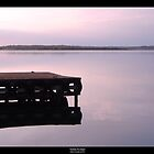 Serenity at sunset by elithenia