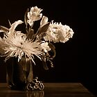 Still Life with flowers by clckac