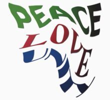 Peace Love and Unity by Craig Stronner