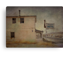Falling by the Wayside Canvas Print