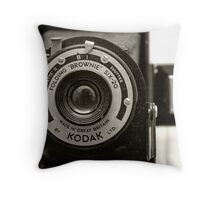 The Business End Throw Pillow