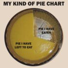 MY KIND OF PIE CHART by Rosetta Jallow