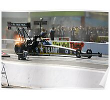 zMax Drag Strip 4 wide Poster