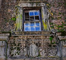 Window - The World Famous Baker Hotel - Mineral Wells Texas by jphall