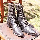 Women's hightop shoes, circa 1850 by Bigart32