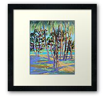 Town of 1770 under the Palms Framed Print