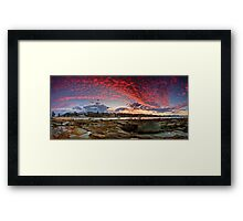 Goodbye to the Day Framed Print