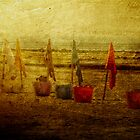 Flags and Buckets by Helen Chierego