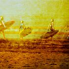 Surf Lifesaving Girls by Helen Chierego