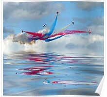 The Red Arrows - Five Four Split Poster